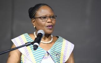 Ms Kentse Moakofhi, WHO CO